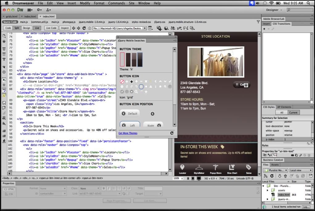 Kursus Desain Web Adobe Dreamweaver CC dengan PHP dan